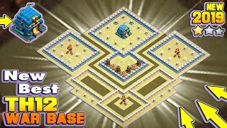 NEW Town Hall 12 (TH12) Anti 2 Star War Base 2019 with Proof | TH12 Trophy/War base | Clash of Clans