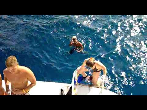 Captain/Hany Samy...Swimming in the Red Sea in Hurghada