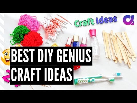 Best DIY Genius Craft Ideas