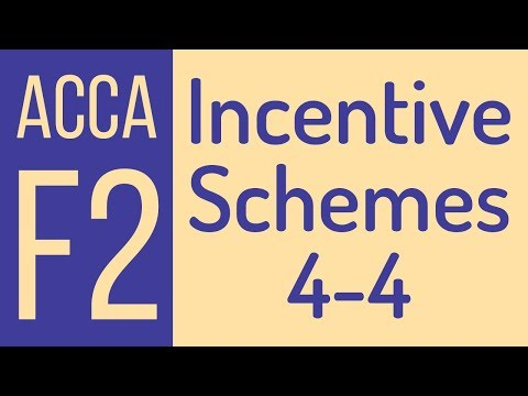 Incentive schemes - Labour Costing [Eng] - Part 4 of 4