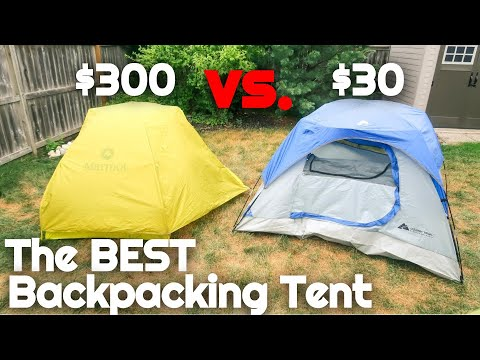 $30 Ozark Trail Tent Vs. $300 Marmot Backpacking Tent | The BEST Tent For Camping Outdoors