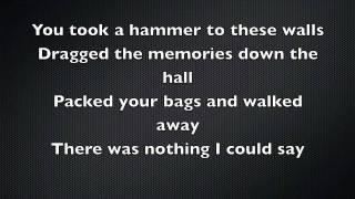 Daughtry - Over You Lyrics