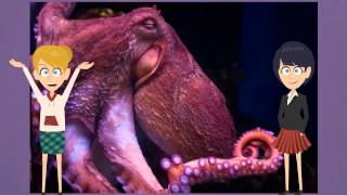 Interesting Video Book For Kids About Octopus