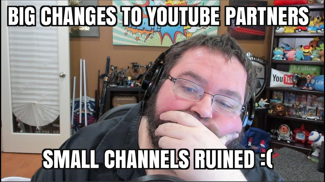 6272c1a297 BIG Changes to Youtube Partner Program DESTROYING Small Creators ...