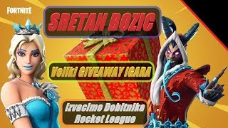 🔴 Balkan Fortnite Merry Christmas!!! Great GIVEAWAY GAMES + Fortnite 600 Baksuza + Skin or $5