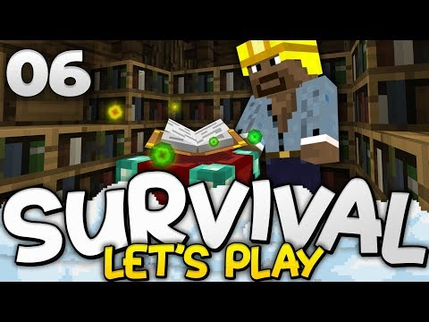 TIME TO ENCHANT!! - Survival Let's Play Ep. 06 - Minecraft Bedrock (PE W10 XB1)