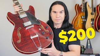 GROTE Guitars, Beautiful and AFFORDABLE Semi-Hollow Body Guitar
