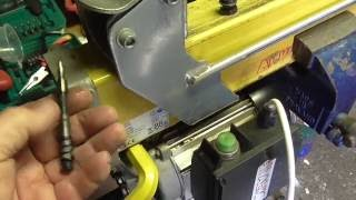 Log splitter repairs/problems to AL-KO and other Chinese models Part 1
