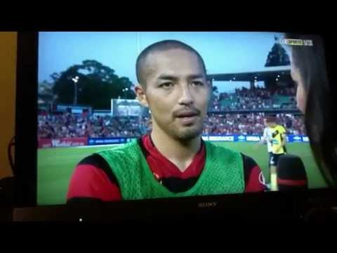 Shnji Ono 1/1/2013 After the game interview!