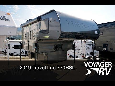 2019 Travel Lite 770RSL Truck Camper RV Video Tour - Voyager RV Centre