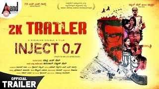 Inject 0 7 Kannada New 2K Trailer Niranjan Double H Pavithra M H Double H Film Factory