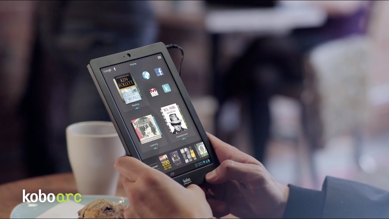 Best eReaders - Kobo family of devices - Kobo Mini, Kobo Touch, Kobo Arc,  Kobo Glo