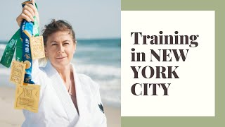 Training in New York with amazing Women