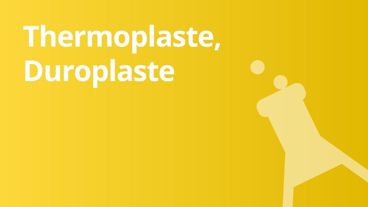 kunststoffe thermoplaste duroplaste elastomere chemie - Duroplast Beispiele