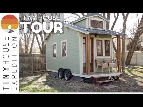 The Lucky Linden Tiny House TOUR