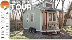 The Lucky Linden Tiny House TOUR