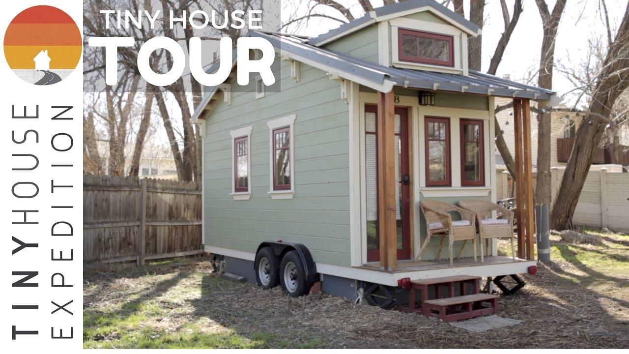 The Lucky Linden Tiny House Tour Youtube
