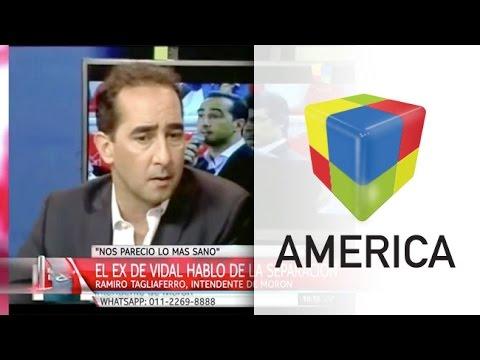 El ex esposo de Vidal habló de la separación