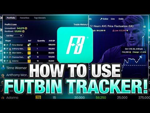 HOW TO USE FUTBIN TRACKER! FIFA 21
