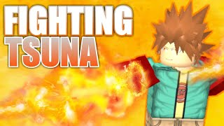 ROBLOX Katekyo Hitman Re-Blox l Fighting Tsuna!