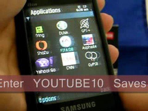 Samsung i8510 INNOV8 Quadband 3G GPS Unlocked Phone