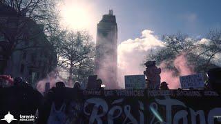 """NANTES : MANIF """"EN SOUTIEN À TOUTES LES ZAD ET CONTRE LES VIOLENCES POLICIÈRES"""""""