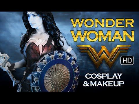 Wonder Woman  2017 |  Gal Gadot | Cosplay | Costume & Makeup | Victoria Lyn Beauty