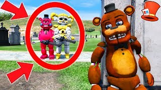 CAN BABY FREDDY HIDE FROM EVIL GOLDEN BABY & RED FREDDY? (GTA 5 Mods For Kids FNAF RedHatter)
