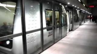 Copenhagen - metro train (no driver)