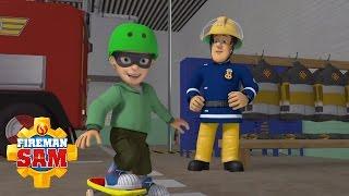Fireman Sam Official: Always Wear a Helmet