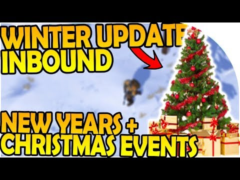 WINTER UPDATE INBOUND - CHRISTMAS EVENT + NEW YEARS EVENT - Last Day On Earth Survival 1.6.8 Update