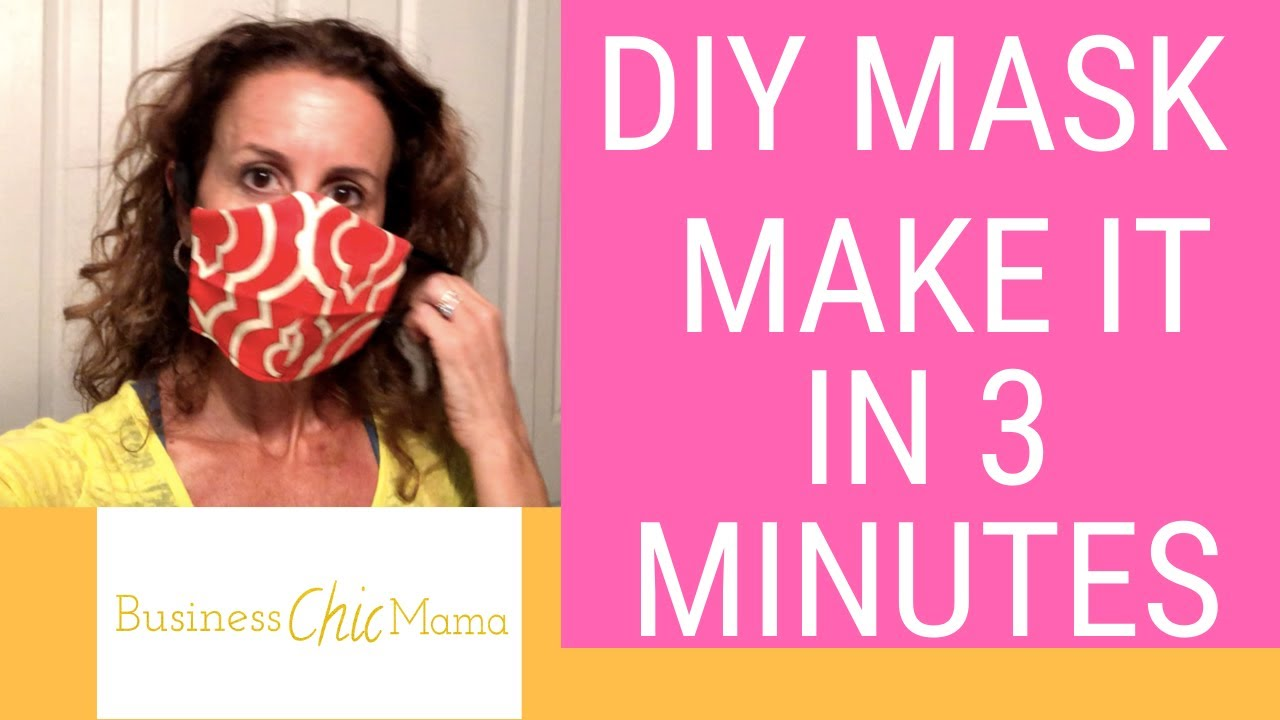 DIY Face Mask   How to Make your own Mask   Surgical Mask ...