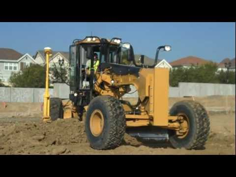 Trimble GCS900 on a Cat 14M