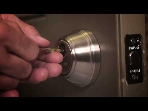 How to Re-Key a Key Control Deadbolt Lock | Kwikset Smartkey Technology