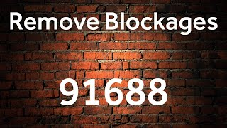 Remove Blocks - 91688 - Grabovoi Numbers - Numerical sequences for
