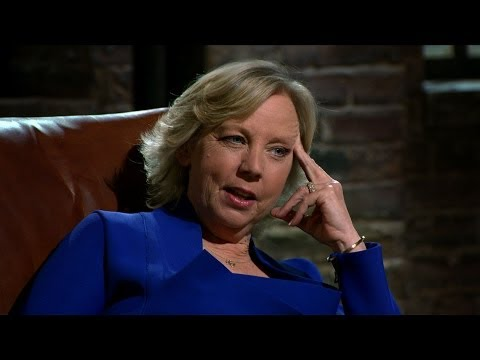 David gets caught reading profit figures from his hand - Dragons' Den: Series 11 Episode 9  - BBC