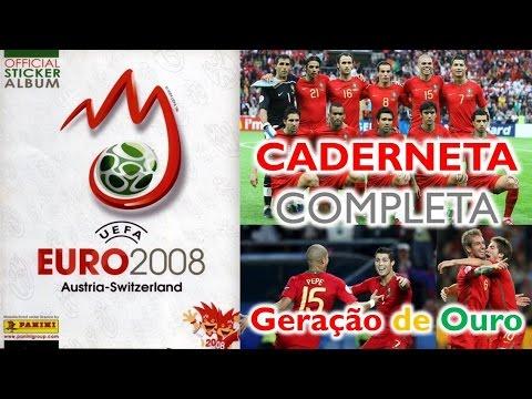 UEFA EURO 2008 - Caderneta Completa de Cromos - Panini