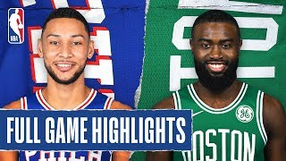 76ERS at CELTICS | FULL GAME HIGHLIGHTS | February 1, 2020