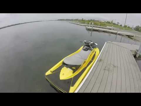 2004 SeaDoo GTX 185 Supercharged 4 Tec Startup And Run In Niagara River