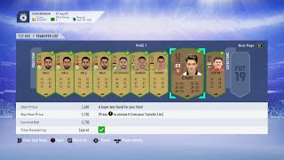 FIFA 19 SNIPING FILTERS   HOW TO MAKE 100K PER HOUR ON FIFA 19 ULTIMATE TEAM!