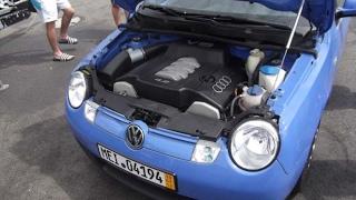 Топ Гир на русском VW Lupo дизель против бензина 3 сезон 1 серия