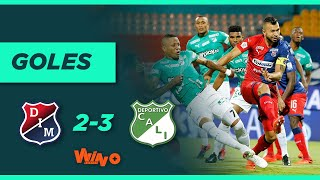 Medellín vs Cali (2-3) Liga BetPlay Dimayor 2020 | Fecha 16