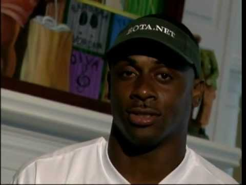 "NFL Star ""Troy Vincent"" for the American Red Cross"