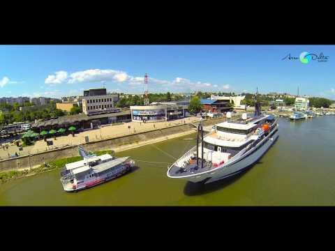 VARIETY VOYAGER Cruise Ship at Tulcea, Romania