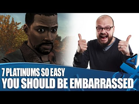 7 Platinum Trophies So Easy You Should Be Embarrassed To Have Them