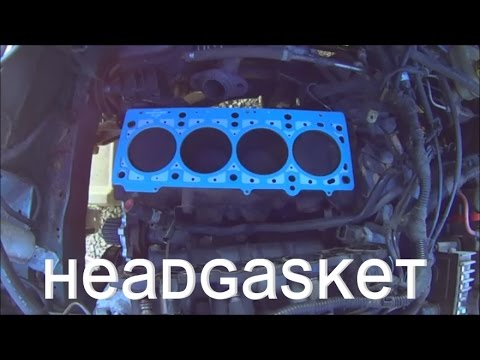 Replace Head Gasket Plymouth Breeze Stratus Cirrus Neon