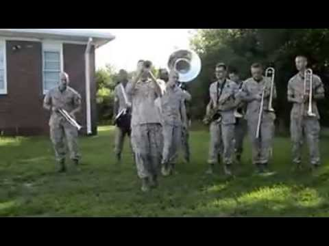 Hey Baby By the Quantico Marine Corp Band
