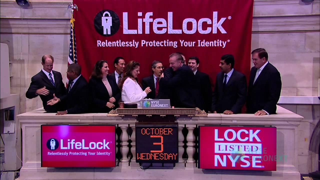 Lifelock Inc Celebrates Ipo On The New York Stock Exchange Youtube