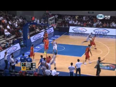 2013-8-9 China Knocked by Chinese Taipei at FIBA Asia Championship 中華 vs 中國