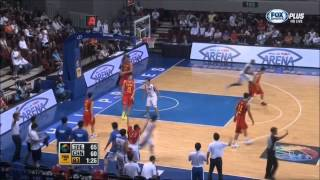 2013-8-9 China Knocked by Chinese Taipei at FIBA Asia Championship 中華 vs 中國